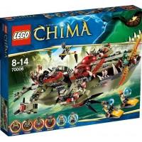 LEGO Legends of Chima Флагманский корабль Краггера (70006)